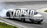 Top 10 Cars We Said Goodbye to in 2014