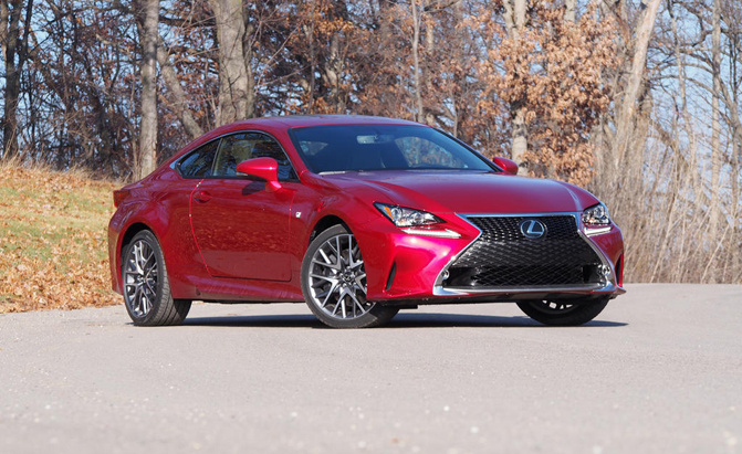 2015 lexus rc 350 f sport review news. Black Bedroom Furniture Sets. Home Design Ideas