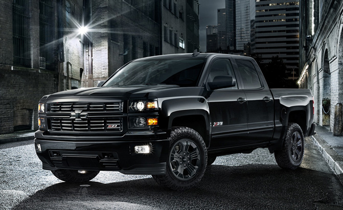 chevy silverado midnight edition heading for chicago debut news. Black Bedroom Furniture Sets. Home Design Ideas