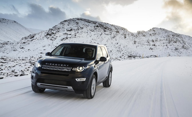 Land Rover Discovery 2015 Black