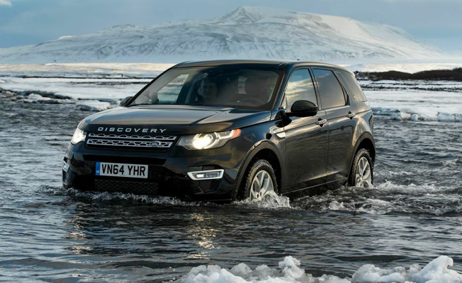video land rover discovery sport first drive land rover forums land rover and range rover forum. Black Bedroom Furniture Sets. Home Design Ideas
