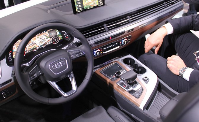 2016 Audi Q7 Interior Exposed At Ces 187 Autoguide Com News
