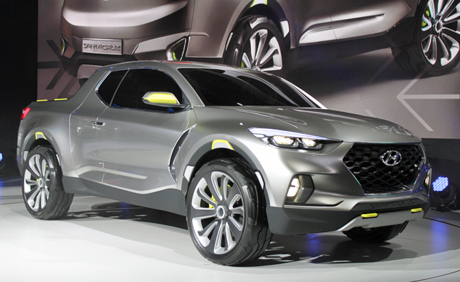 hyundai santa cruz concept is a true compact pickup news. Black Bedroom Furniture Sets. Home Design Ideas