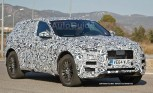 Jaguar F-PACE Crossover Spied Testing