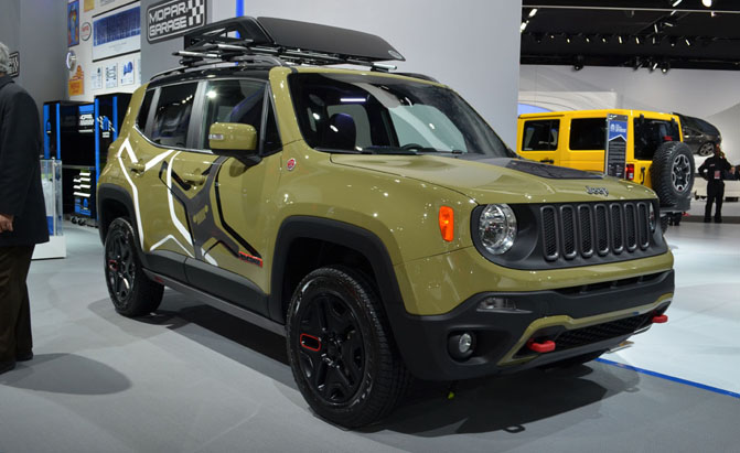 Customized Jeep Renegades Break The Rules In Detroit