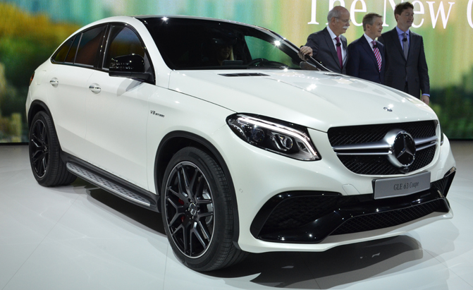 2016 Mercedes Amg Gle 63 Coupe Takes Aim At X6 M