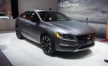Volvo S60 Cross Country Gets Jacked Up in Detroit