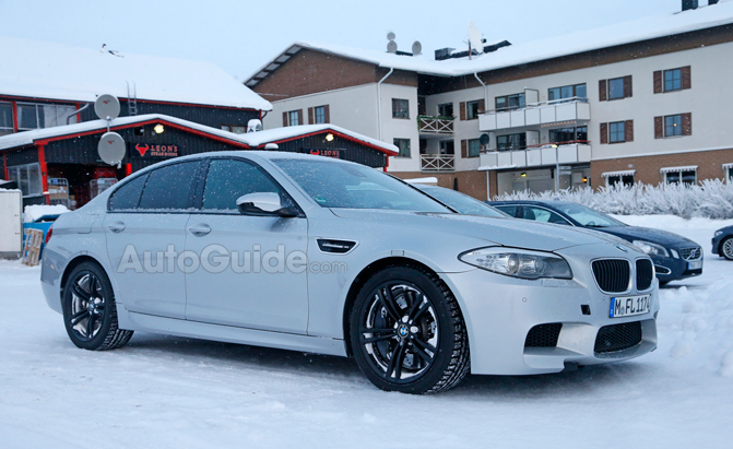 Bmw M5 Awd Confirmed In Spy Photos Bmw M5 Forum And M6