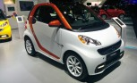 2015 smart fortwo 'Edition Flashlight' Shows up in Detroit