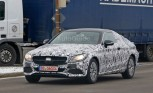 Mercedes C-Class Coupe Spied Testing