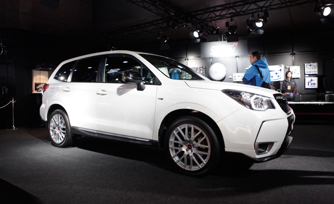 Subaru Forester Ts Gets Tuned By Sti Autoguide Com News