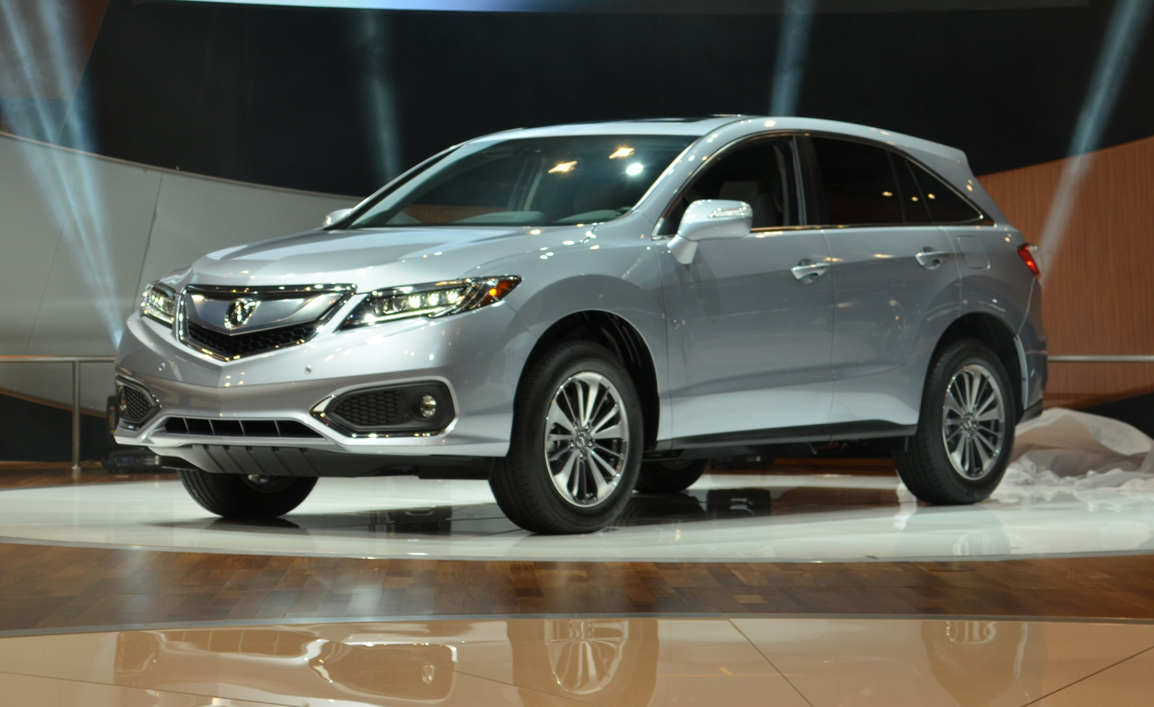 You could say acura s rdx is dressed to the nines just revealed in chicago this compact crossover has been freshened for 2016 gaining things like led