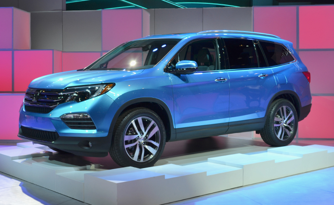 Honda just took the wrapper off its latest Pilot SUV. This 2016 model