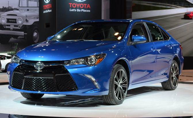 Special Edition Camry Corolla Debut In Red And Blue
