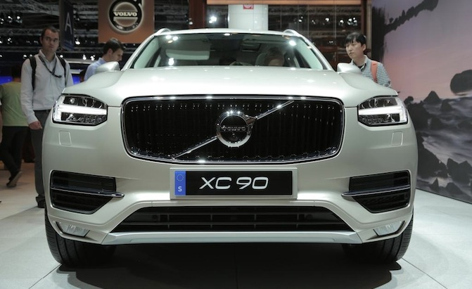 2017 Volvo S90 To Adopt Xc90 Style Tech