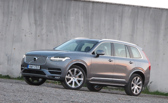 2016 Volvo Xc90 Awd Rated At 22 Mpg Combined