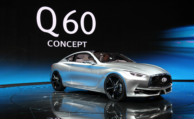 Infiniti Q60 to Make 400-HP, More Powerful Version to Follow