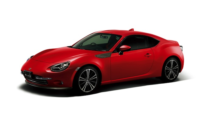 Toyota 86 Style Cb Edition Revealed For Japan 187 Autoguide