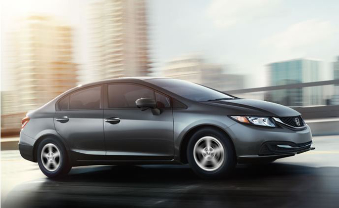 At Number 9 On The List Is Honda Civic Natural Gas