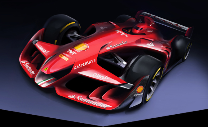 Ferrari Reveals Hot New F1 Car Concept » AutoGuide.com News