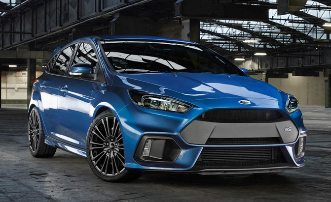 Ford Focus Rs Awd System Could Head To Other Models