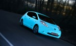 Watch a Nissan Leaf Glow-in-the-Dark
