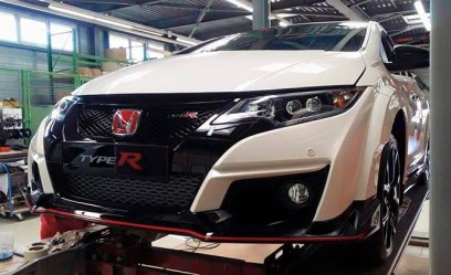 2016 Honda Civic Type R Spied