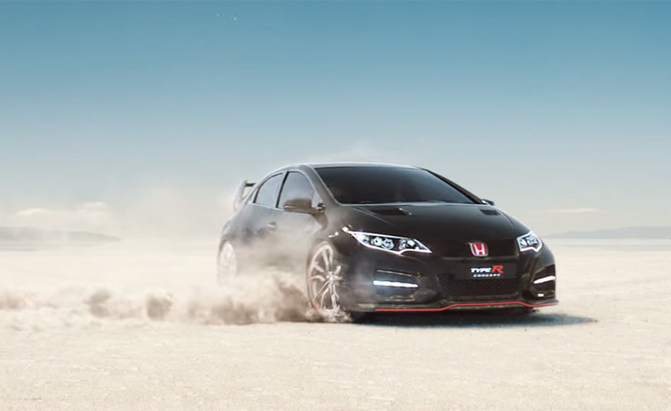 Honda Civic Type R Looks Hot In New Commercial