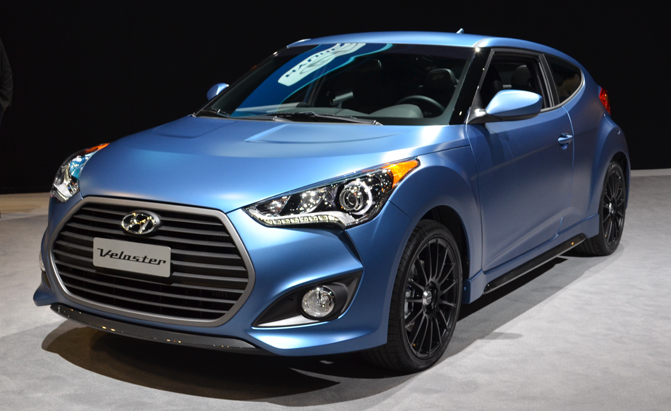 2016 Hyundai Veloster Turbo Gains Seven Speed Dct