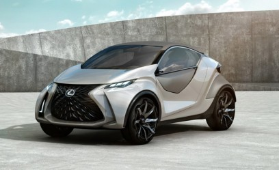 Lexus LF-SA Mini-Car Concept Leaked