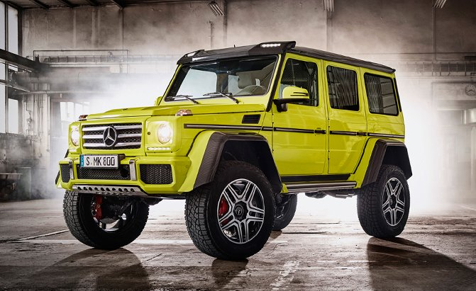 Mercedes G500 4x4 Squared is Serious Off-Road Luxury ...
