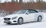Mercedes S-Class Convertible Spied Testing