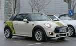 MINI Convertible Spied with Little Camouflage