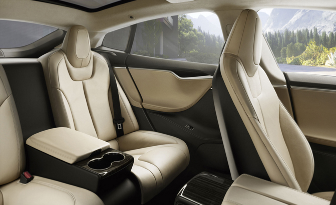 tesla model s adds executive rear seats news. Black Bedroom Furniture Sets. Home Design Ideas