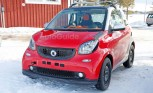 Smart Fortwo Brabus Spied During Winter Testing