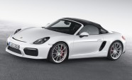 Porsche Boxster Spyder Returns for 2016