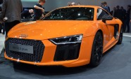 2017 Audi R8 to Arrive With V10, Plus More
