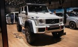 Mercedes G500 4×4 Squared Flexes Off-Road Muscle