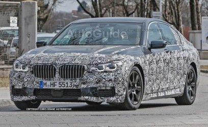 2016 BMW 7 Series Spied in Aggressive Trim