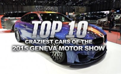 Top 10 Craziest Cars of the 2015 Geneva Motor Show