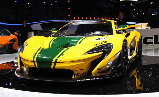 Mclaren P1 Gtr Debuts With Ultra Modern Performance Retro