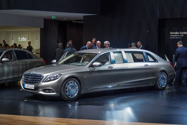 Mercedes-Maybach S600 Pullman Lords Over Other Limos ...