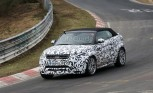 Range Rover Evoque Convertible Spied at the Nürburgring