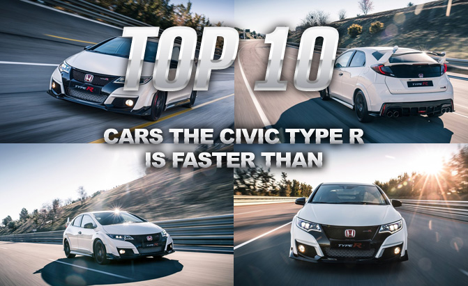 10 Sports Cars the Civic Type R Beat Around the Nürburgring