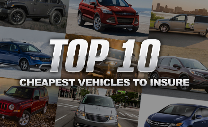 Top 10 Cheapest Vehicles To Insure 187 Autoguide Com News