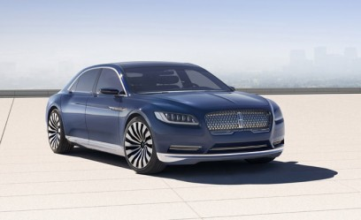 Lincoln Continental Concept Previews Brand's New Flagship Sedan