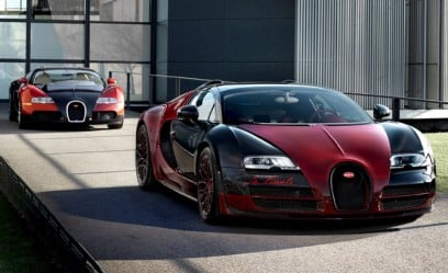 This is the Last Bugatti Veyron