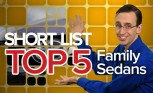 Top 5 Family Sedans of 2015