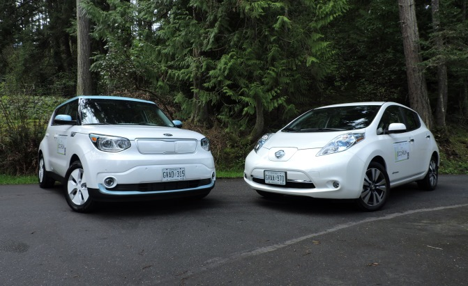 Kia Did Its Homework On The Nissan Leaf Mimicking Many Of Ev S Specifications