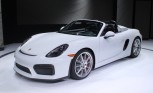 2016 Porsche Boxster Spyder Video, First Look